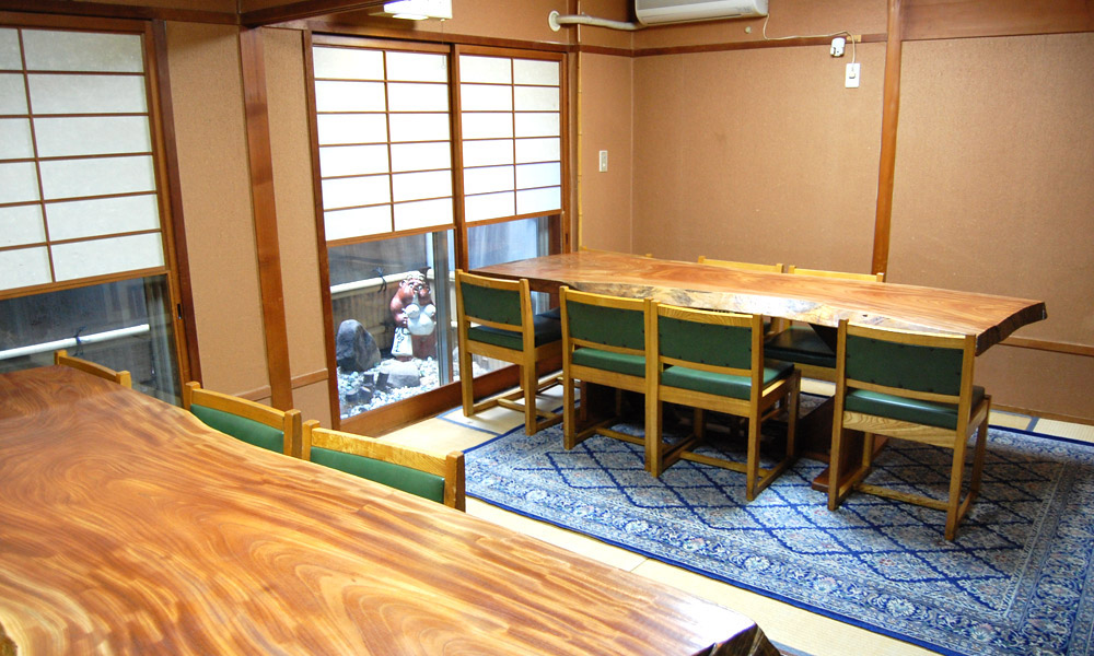 3F テーブル席